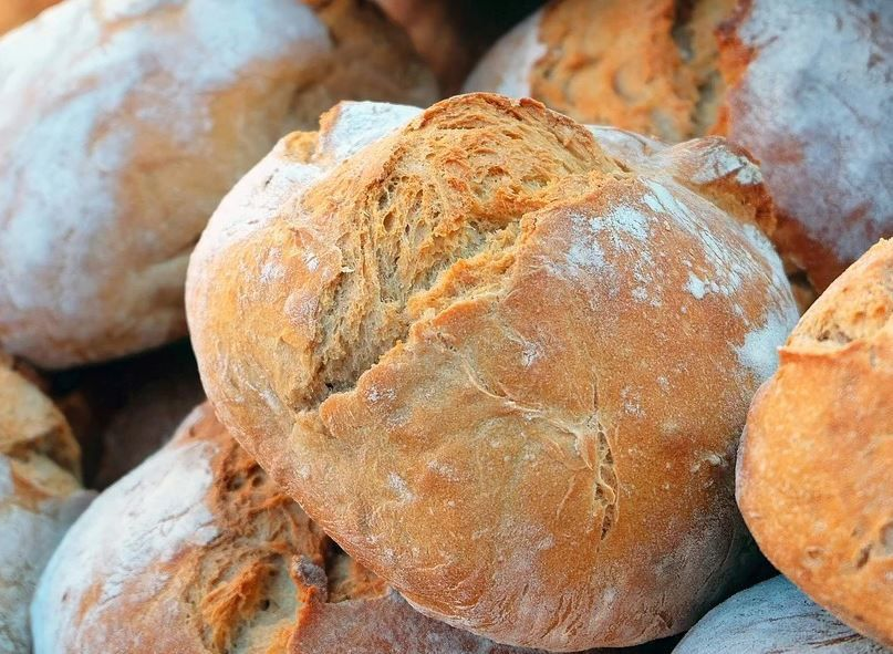 The unsalted Tuscan bread from Villa Campestri Olive Oil Resort