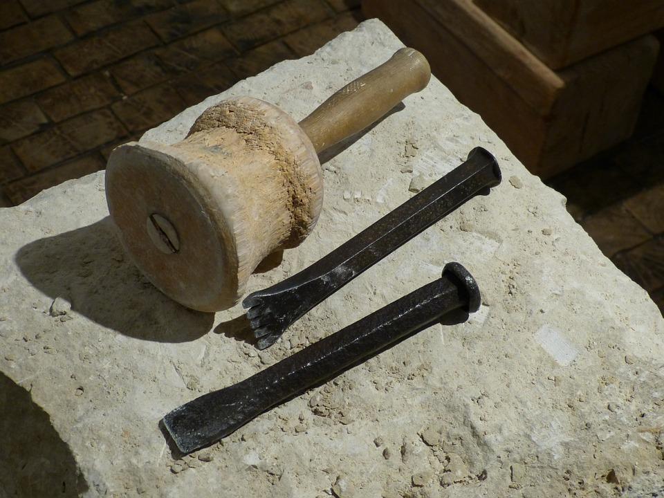 scalpello pietra