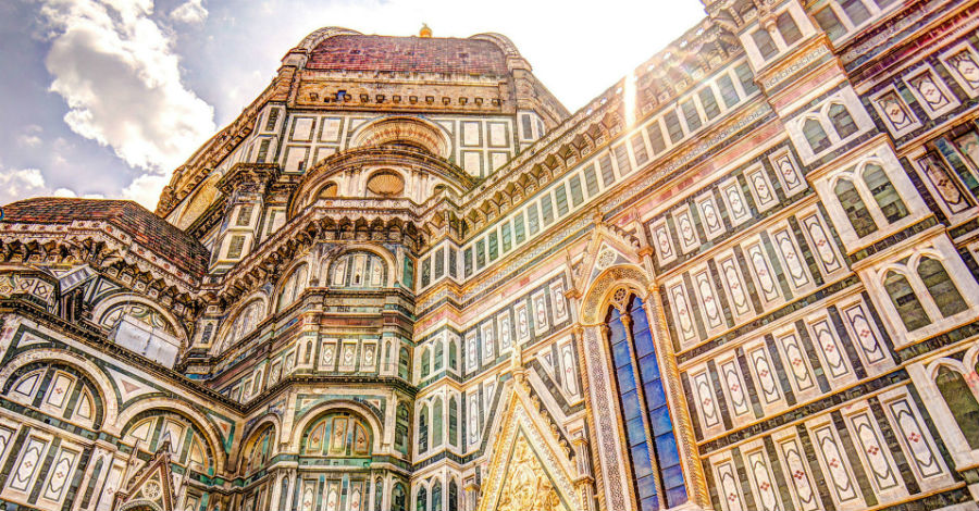 One of the images that describe what to visit in Florence starting from Villa Campestri