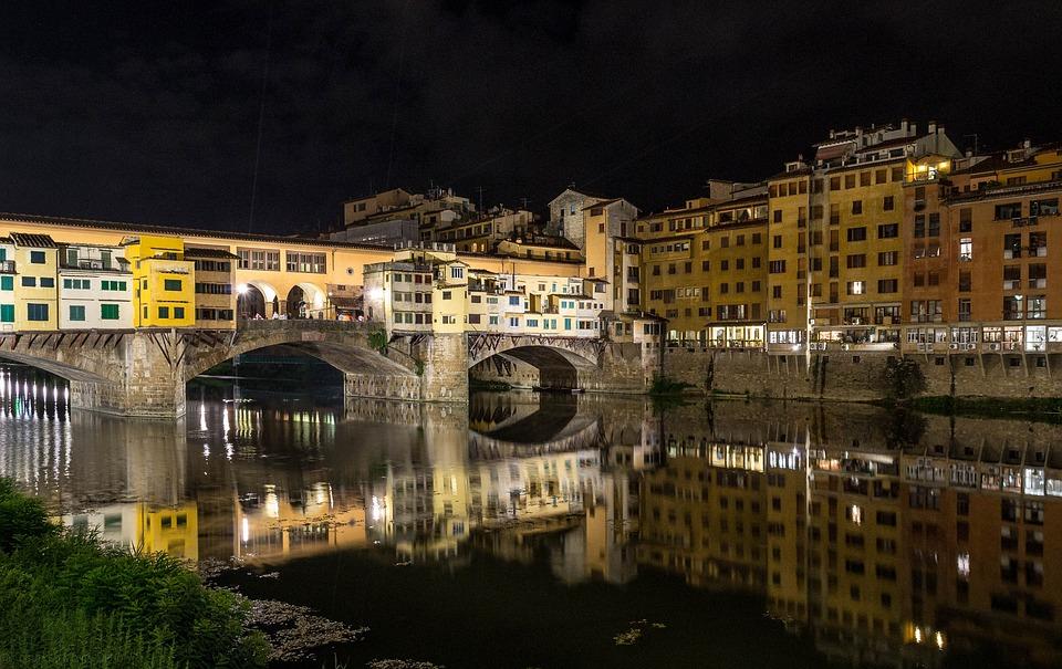 Ponte Vecchio Florence and Villa Campestri
