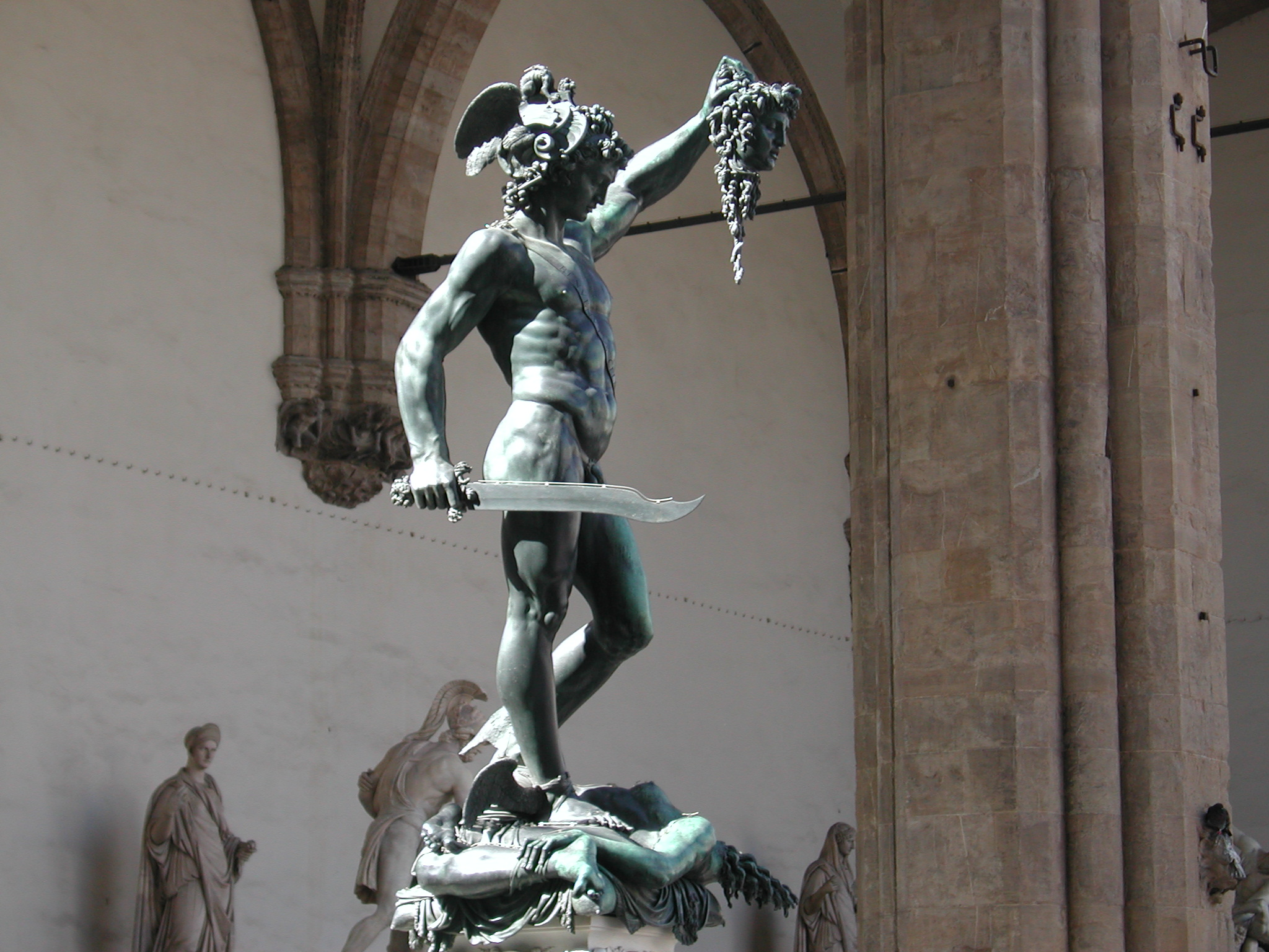 Welcome To Our Blogthe Perseus Of Cellini In Vicchio Villa