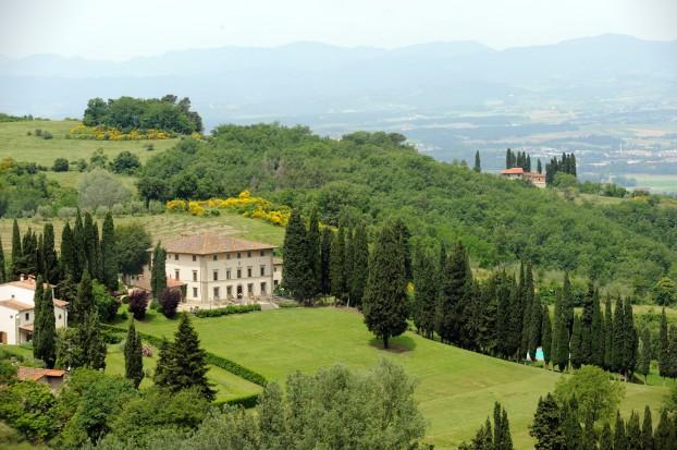 Luxury Resort in Tuscany Villa Campestri