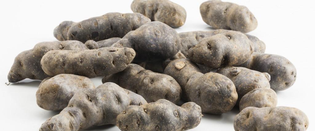 Tortino di patate viola di Villa Campestri