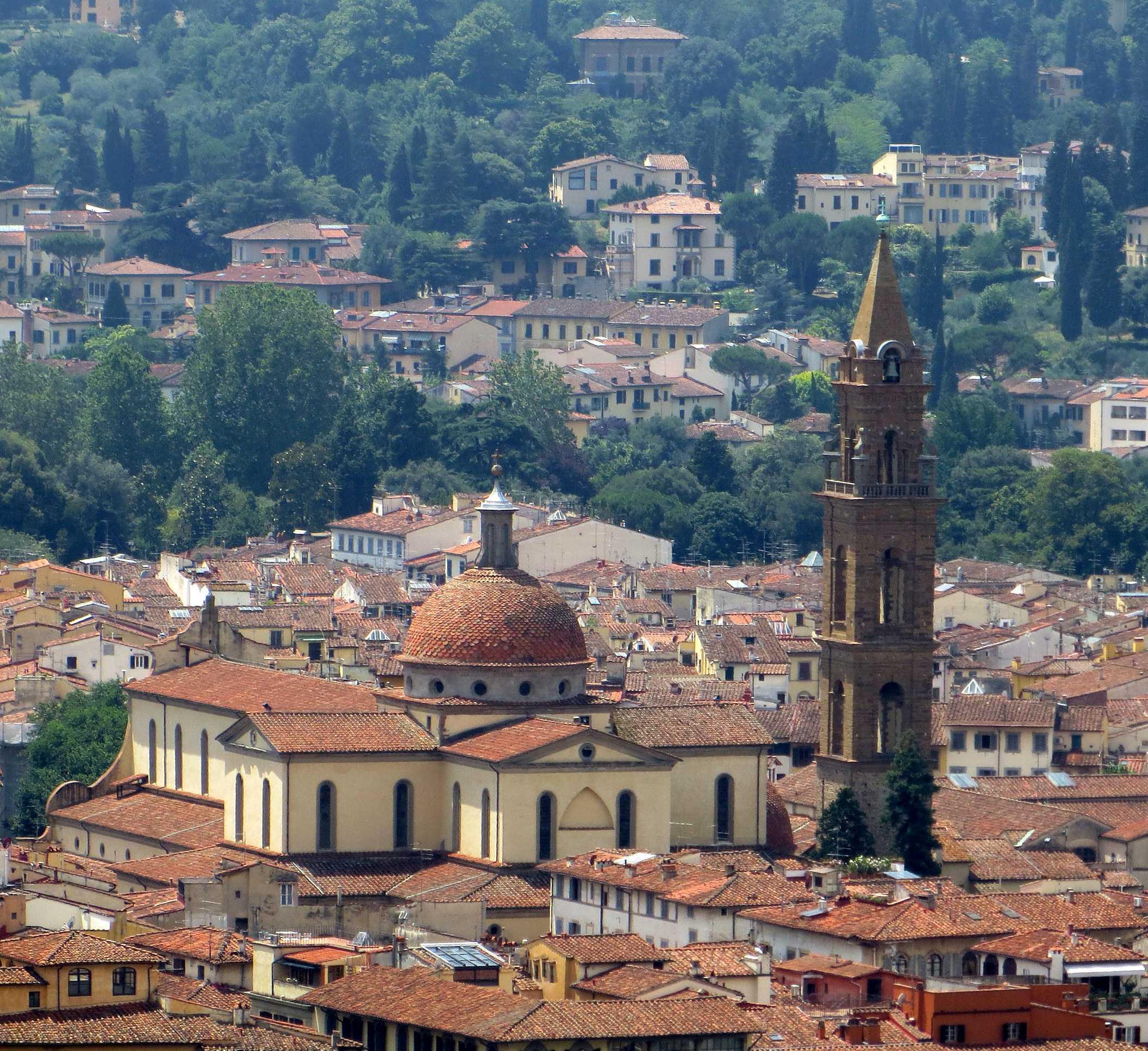 The Renaissance-style basilicas selected by Villa Campestri Resort