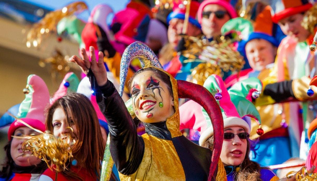 Il carnevale di Viareggio in Toscana