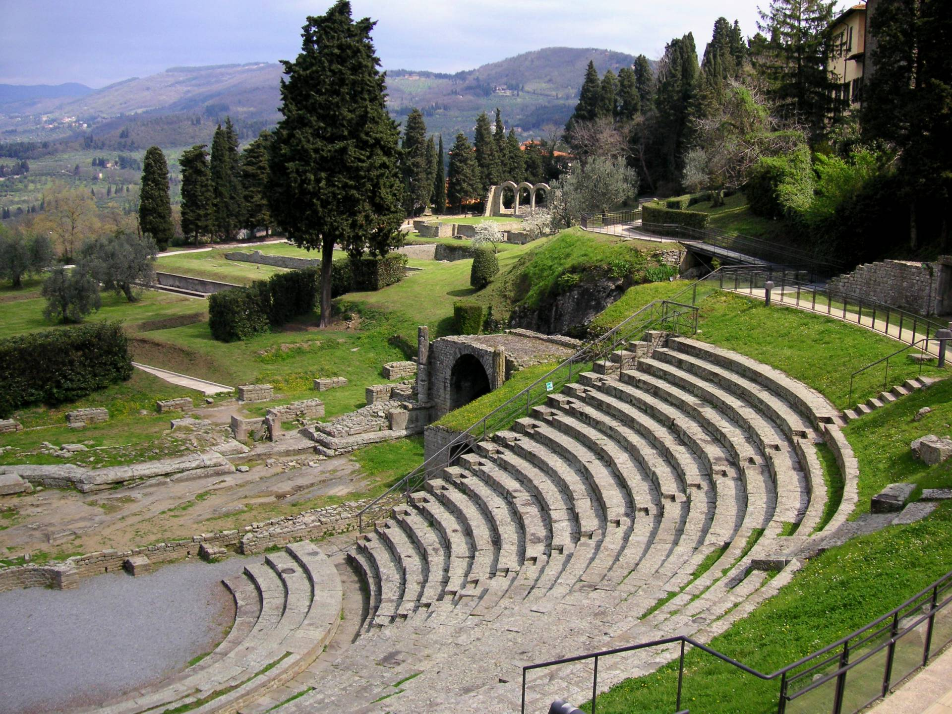 what to see in fiesole