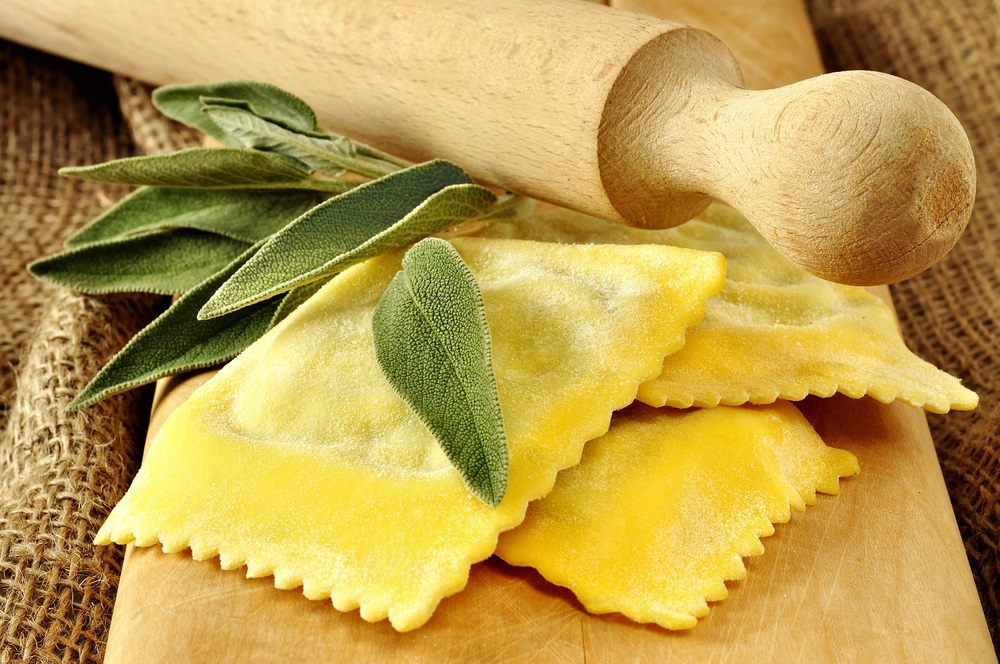 The Tuscan potato tortelli from Villa Campestri Olive Oil Resort