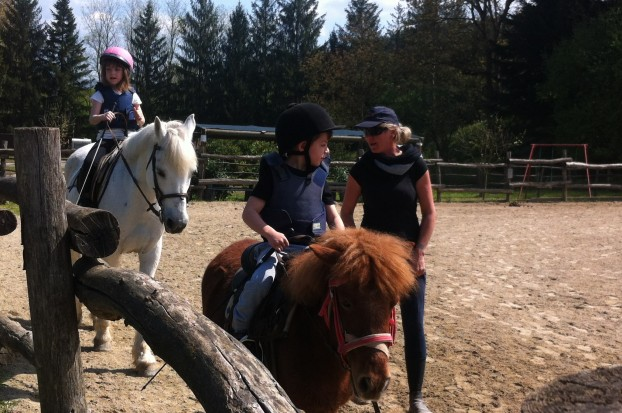 Learn to ride a horse at Villa Campestri Olive Oil Resort