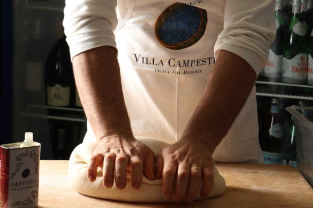 Tuscan cooking class at Villa Campestri Olive Oil Resort