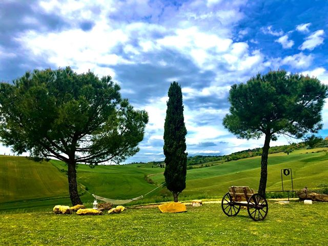 Holidays Tuscan countryside of Villa Campestri Olive Oil Resort.