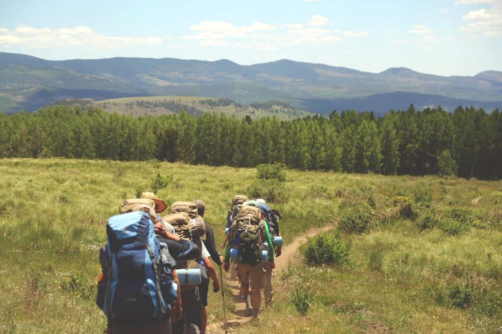 Trekking routes in Tuscany