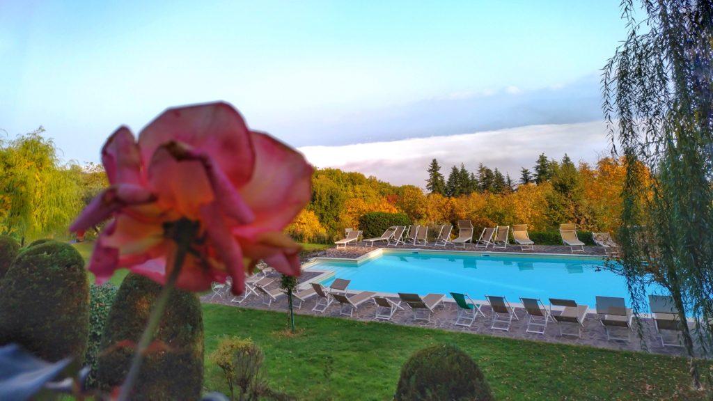 Piscina nella campagna di Firenze di Villa Campestri Olive Oil Resort