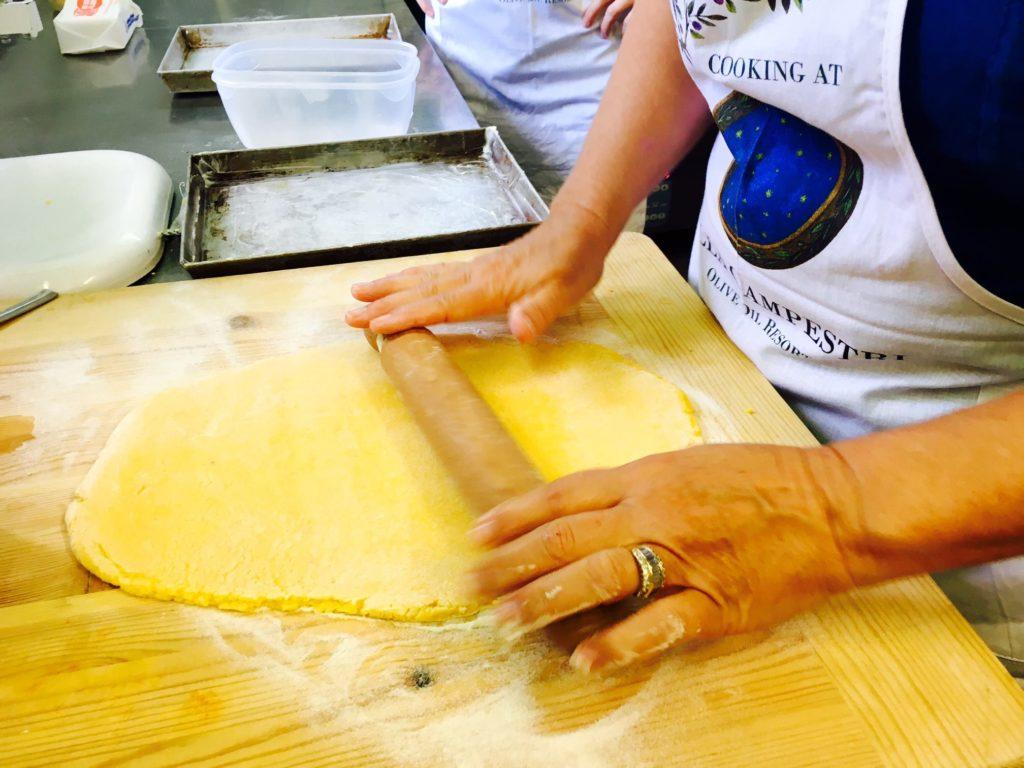 Ricetta speciale dei Tortelli di Patate del Mugello creata da Villa Campestri Olive Oil Resort