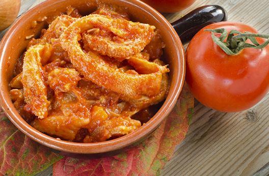 The recipe of the Florentine tripe of Villa Campestri Olive Oil Resort