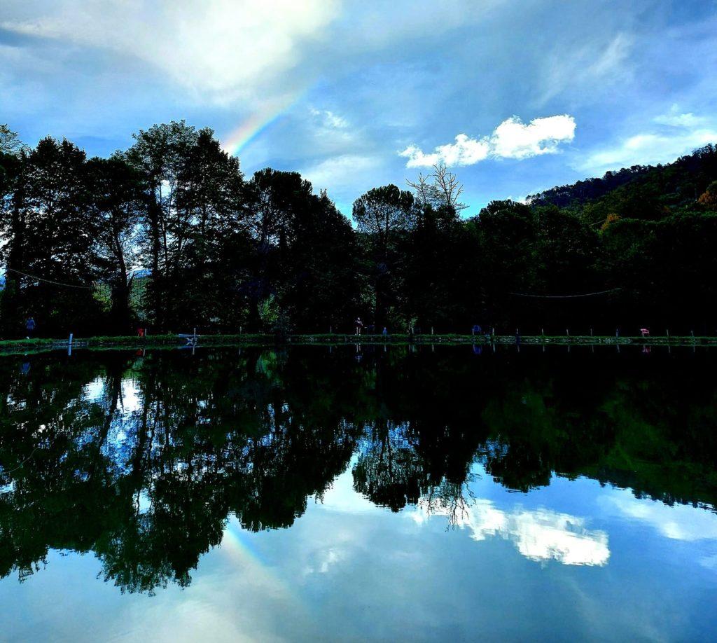 Lago Viola a Vicchio nel Mugello con Villa Campestri Olive Oil Resort