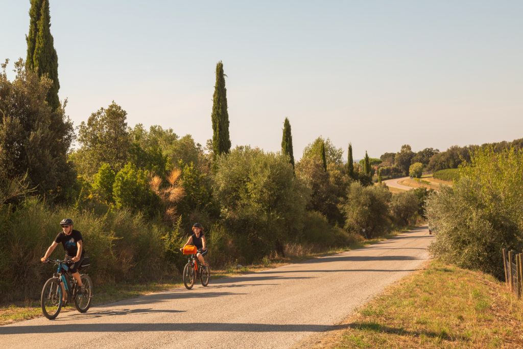Usare la bicicletta in toscana con Villa Campestri Olive Oil Resort