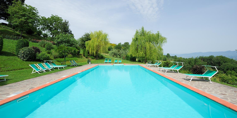 Piscina e Terrazza Panoramica - Villa Campestri Olive Oil Resort