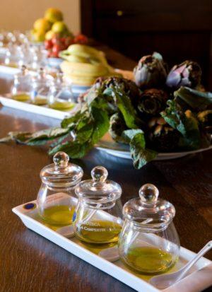 Olio Extravergine italiano toscano di Villa Campestri Olive Oil Resort