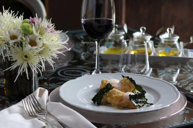 Ristorante di cucina toscana a Villa Campestri Olive Oil Resort