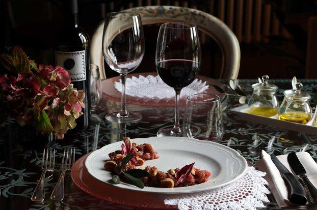 Ristorante tradizionale in Toscana a Villa Campestri Olive Oil Resort